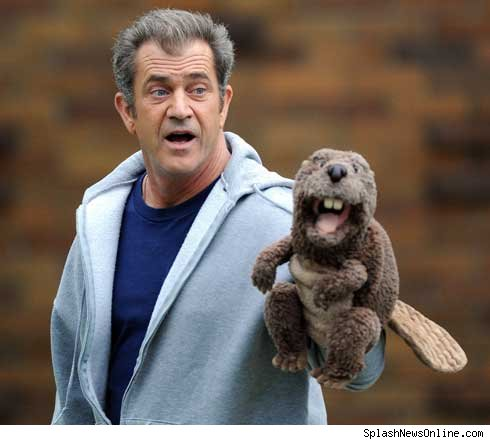 Mel Gibson and his beaver from TMZ.com