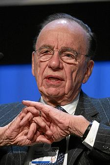 Rupert Murdoch in 2007.  Hard to believe he looks even older now.