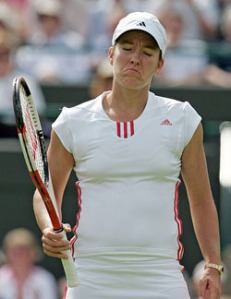 Justine Henin refuses to go away