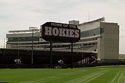 Lane Stadium - Home of the Shysters, I mean Hokies