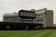 Lane Stadium - Home of the Shysters, I mean Hokies